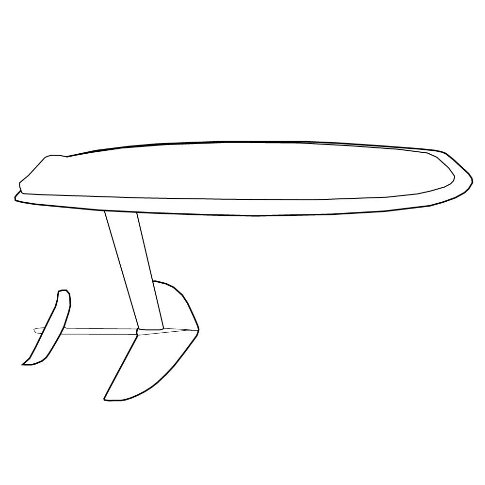 Kitefoilboard