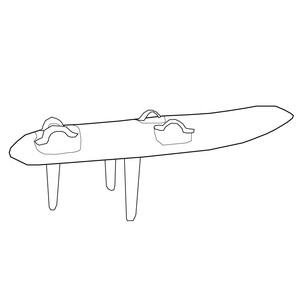 Raceboard Kitesurfen